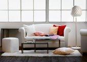 Salon w odcieniach bieli